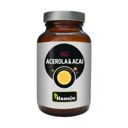Organiczna Acerola 200 mg + Organiczne Acai 200 mg 90 kapsułek
