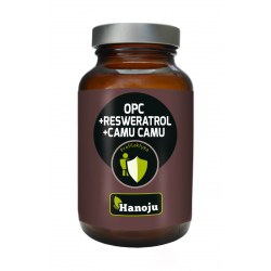 OPC + Resveratrol + Organiczny Camu Camu 500mg 60 kapsułek