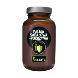 Palma Sabalowa ekstrakt 250mg + Pokrzywa ekstrakt 200mg, 90 kapsułek