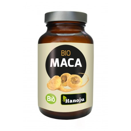 Organiczna Maca Premium ekstrakt 4:1 500mg 180 tabletek