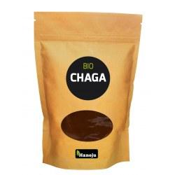 Chaga proszek z grzyba 100 gram ekologiczny