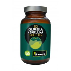 Spirulina + Chlorella BIO 400mg 300 tabletek