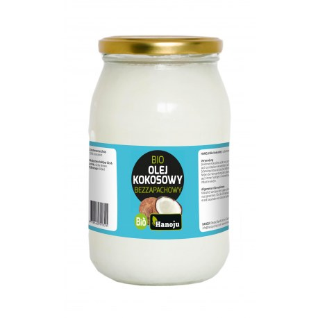 Olej kokosowy bezzapachowy 900 ml